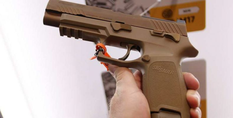 New M18 SIG Sauer issued to USAF security forces | Defence