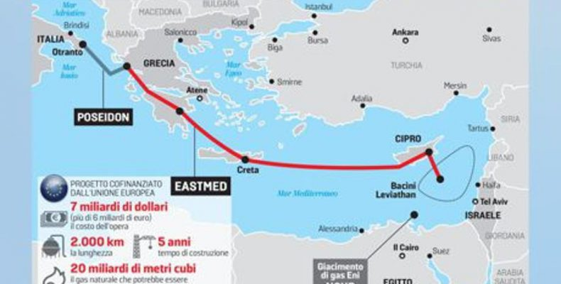 Rome hits pause on East Med gas pipeline | Defence-Point com