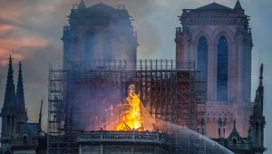Turkey: Many Celebrate the Burning of the Cathedral of Notre Dame