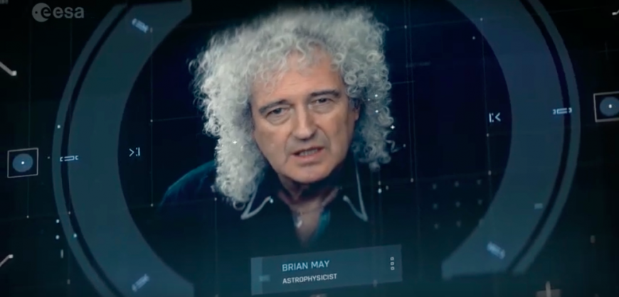 Astrophysicist And Queen's Lead Guitarist Brian May