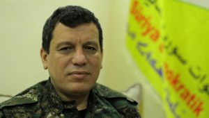 SDF commander warns of 600-km-front in response to any Turkish attack