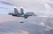 Syrian, Russian warplanes strike ISIS positions in Homs near Deir Ezzur