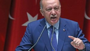 Turkish President Erdogan repeats threats of letting in refugees to EU in Reuters interview